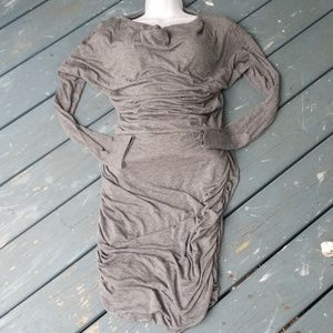 Athleta Heathered Gray Dress S